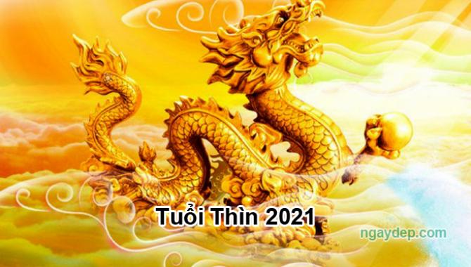 Tử vi 2021 của tuổi Thìn